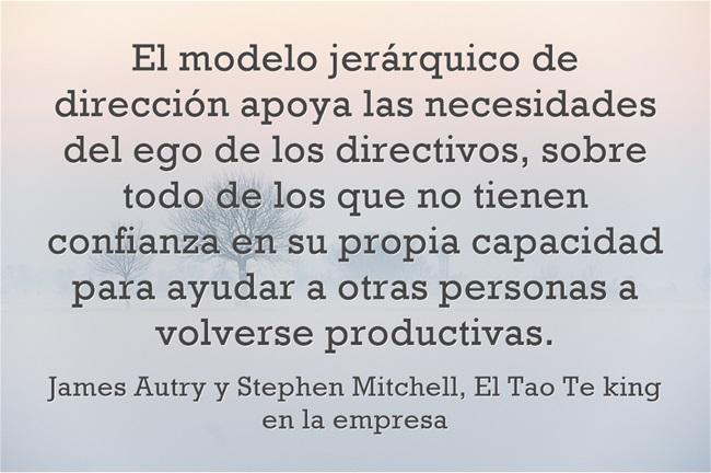 modelo jerárquico empresarial