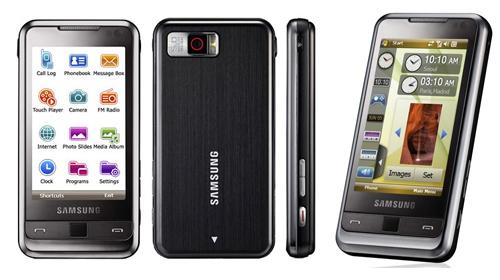 Registro de móvil {Opcional} Samsung-omnia
