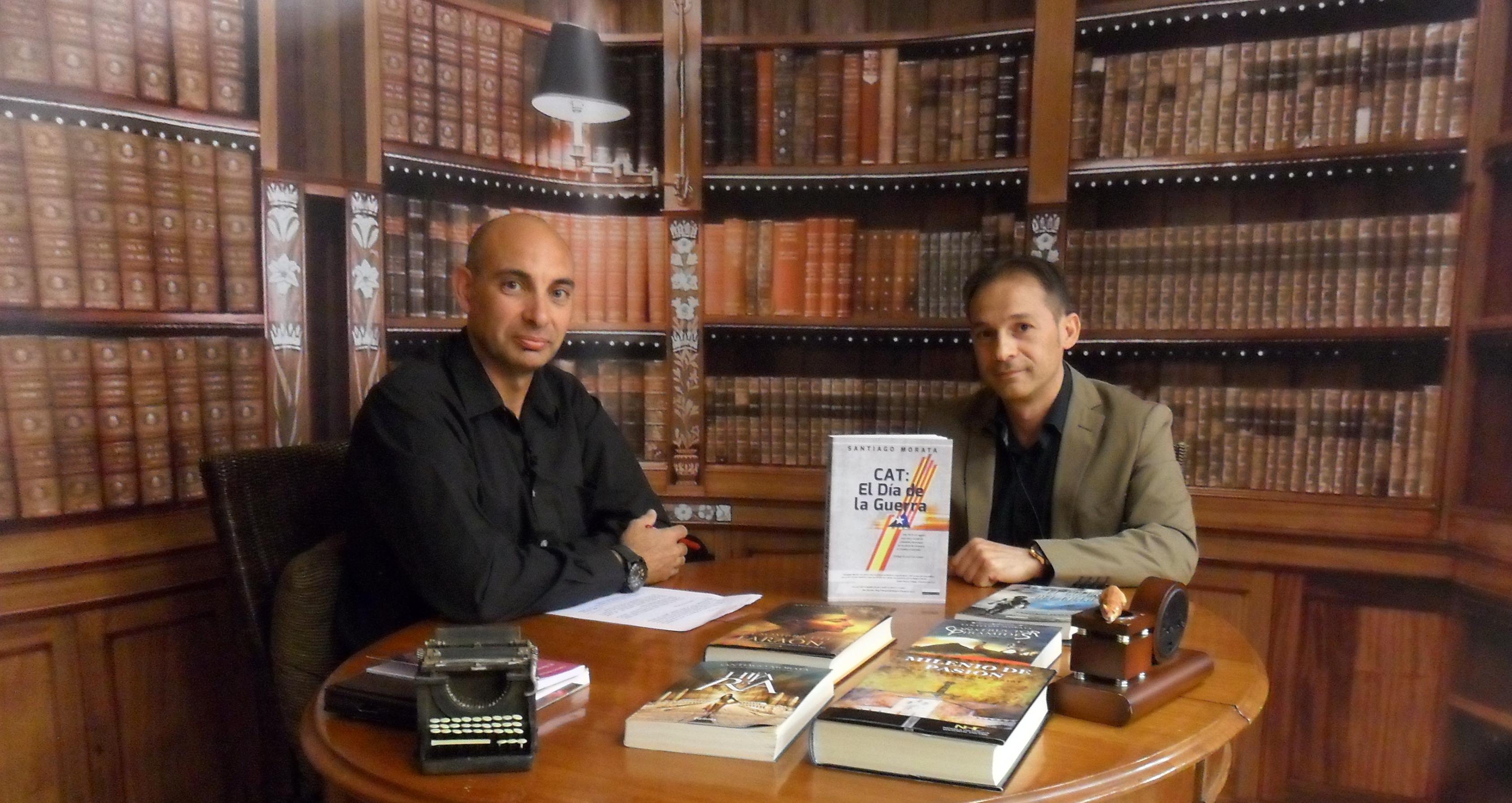 Santiago Morata, entrevistado por Raúl Tristán en 'El Lobo Estepario'