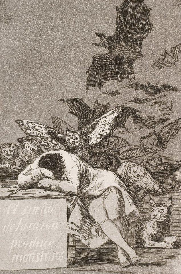 «El sueño de la razón produce monstruos»